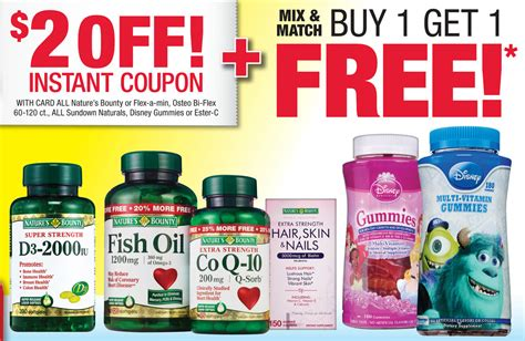 vitamin shoppe coupons top deal 10 off promo codes disney vitamins coupon 1 00 off disney gummy vitamins