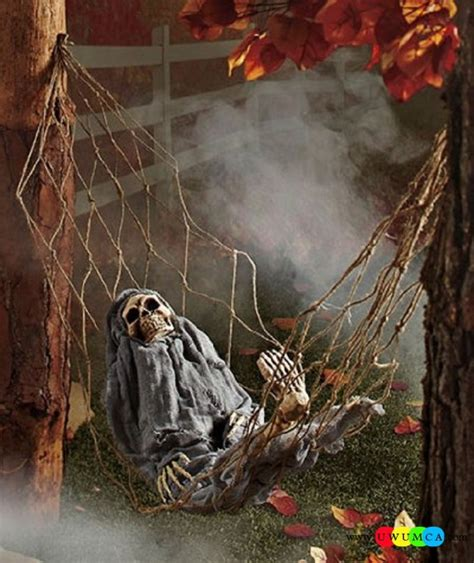 scary halloween decorations to make at home ideas outdoor halloween decoration ideas to make your