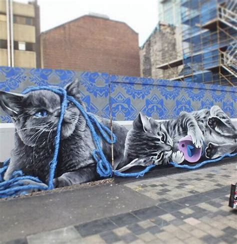glasgows newest mural revealed heres   find
