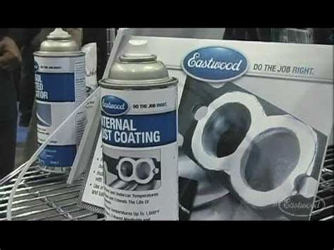 internal exhaust coating with kevin tetz at sema from
