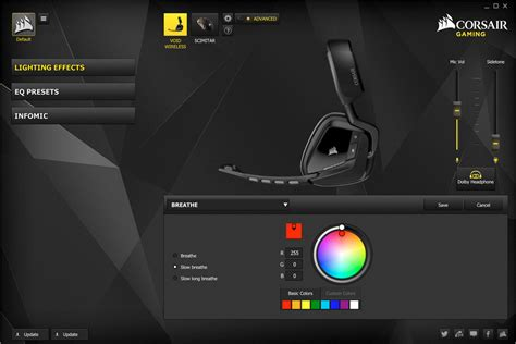 Corsair Headset Gaming Void Wireless Dolby 71 Special Edition Yellow 1 refurbished corsair void 7 1 special edition rgb usb