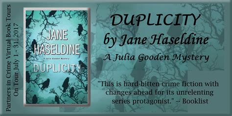 duplicity a gooden mystery books a within a