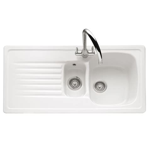 Ceramic Inset Kitchen Sink Caple Ashford 150 Inset Ceramic Sink Sinks Taps