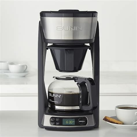 Coffee Maker Zj 150 Akebonno bunn 10 cup programmable coffeemaker williams sonoma