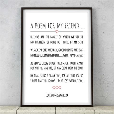 my dearest bridesmaid a heartfelt keepsake from the in your books unique personalised best friends poem print by ohmywordart