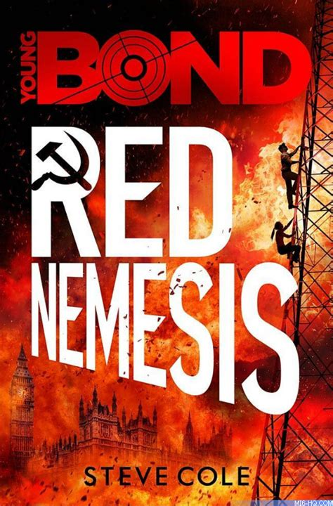 libro young bond red nemesis red nemesis cover artwork and details of steve cole james bond 007 mi6 the home of