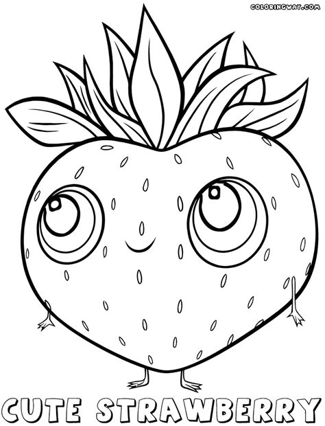 cute food coloring pages coloring pages to download and