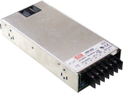Power Supply Well Se 450 15 n 228 taggregat well hrp 450 24 24volt 450w