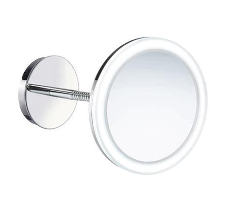 smedbo outline swing arm shaving and make up mirror round smedbo outline wallmounted swing arm led shaving make up