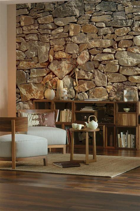 steinwand wohnzimmer steinwand wohnzimmer ein frischer hauch in ihrem zuhause