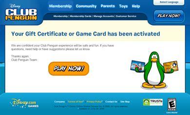 Club Penguin Membership Gift Card - saraapril in club penguin card activation in club penguin