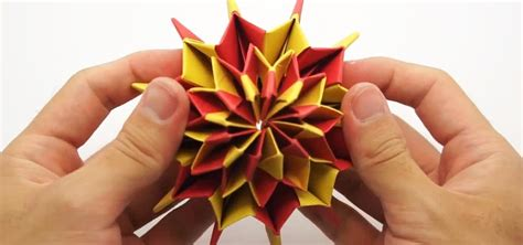 Cool Things To Fold Out Of Paper - how to make colorful quot fireworks quot using origami paper 171 origami