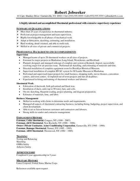 Aviation Resume Sle Free Mechanic Resume Objective 28 Images Resume Auto Mechanic Sle Resumes Template Maintenance