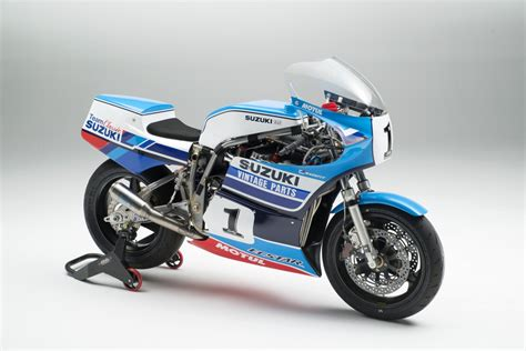 vintage parts team classic suzuki launched  motorcycle