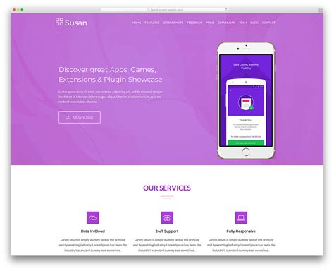 28 Best Free Bootstrap Landing Page Templates With Modern Design Bootstrap Landing Page Template