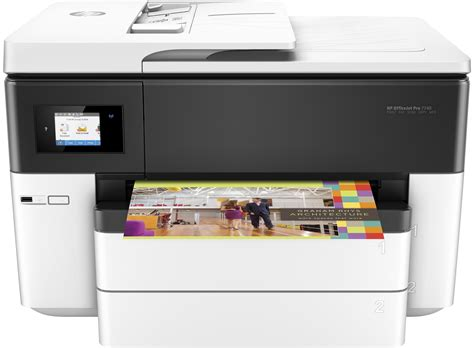 Printer Hp A3 All In One hp officejet pro 7740 a3 wireless all in one printer hp store uk