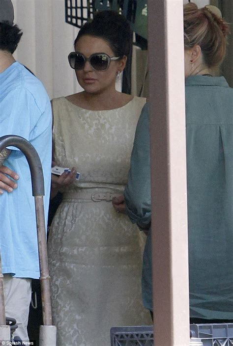 Even More Lindsay Lohan For Stuart Caign Images by Lindsay Lohan Morphs Into Liz Even More As She