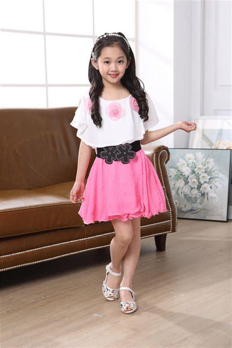 Dress Tanpa Lengan Terusan Hitam Polyester Free Size gaya baru musim panas gadis dress dengan gratis belt