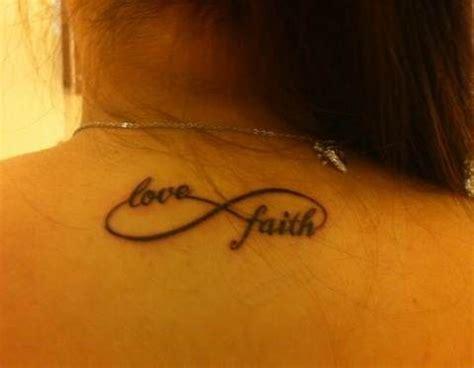 love god tattoo designs faith infinity designs