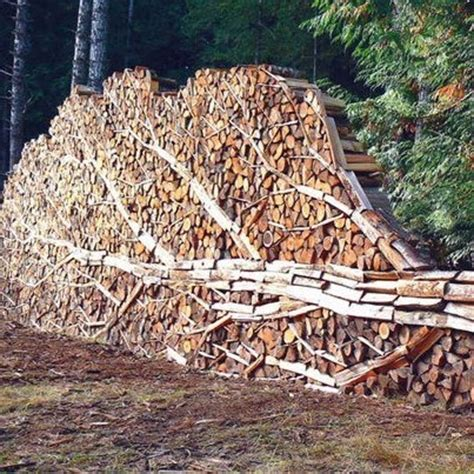 build firewood rack for stacking the world s catalog of ideas