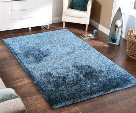Floor Rugs by 5x7 Blue Shag Floor Rug Clearance Items Seat N Sleep