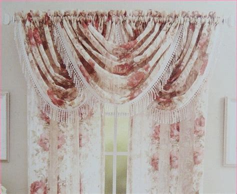 crepes and drapes victorian rose crepe sheer lace curtain or top valance d