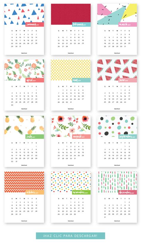 free 2017 calendar printable drawn to diy monthly printable calendar 2017 colorful disaster