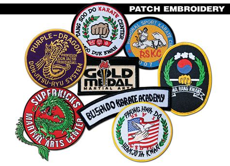 Handmade Embroidered Patches - custom made embroidered patches