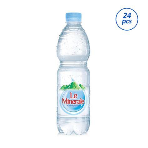 jual le minerale air mineral 600 ml 24 pcs area jakarta