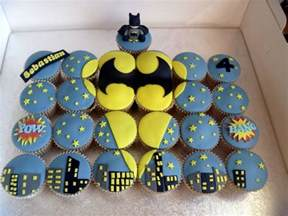 southern blue celebrations batman cakes cupcakes and cookies