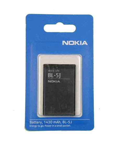 Nokia Battery Bl 5j Original nokia original mobile battery of the model bl 5j with 1430 mah batteries at low prices