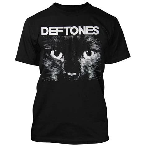 T Shirt Deftones Black Pafd deftones t shirt black cat