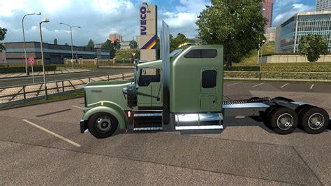 w900l kenworth trucks kenworth w900l v1 5 ets2 mods euro truck simulator 2