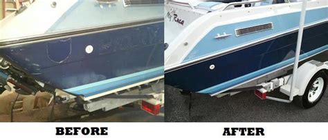 boat detailing prices near me boat detailing before after shots check out more on our