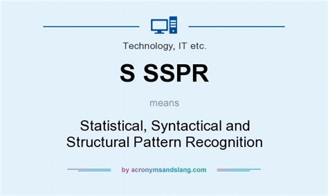 pattern of recognition definition what does s sspr mean definition of s sspr s sspr