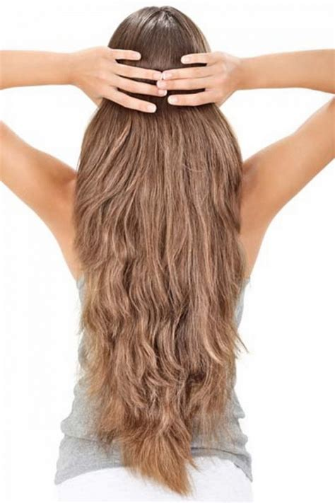 long layered hair front and back view long layered hair back