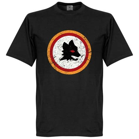 Tshirt As Roma 1 roma retro t shirt nainggolan 4 black