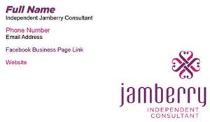 jamberry nails business cards jamberry nails business card horizontal by bunnysgraphics