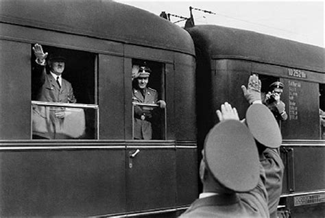 planes, trains & automobiles – transporting the führer