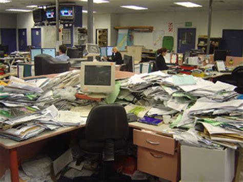 Disorganized Desk by If Your Space Is Neat And Organized You Must Be Revolutionary Assistant