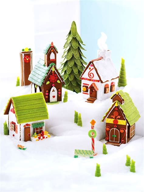make a christmas gingerbread village canadian living