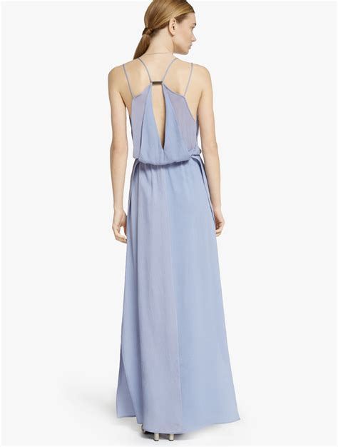 Apt Maxi Liena Lavender Maxi hammer silk maxi dress in purple lyst