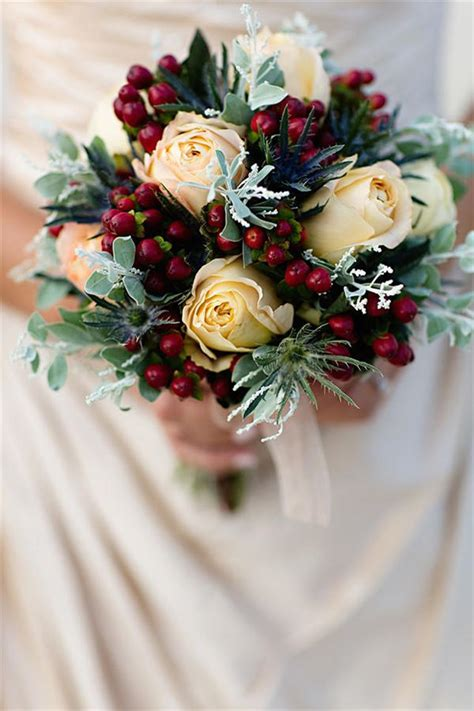 merry  bright christmas wedding bouquets southern living