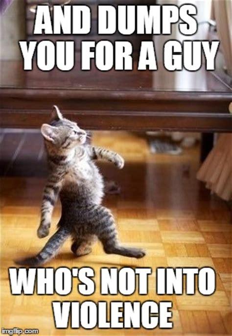 Cool Cat Meme - cool cat stroll meme imgflip