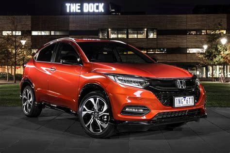 2019 Honda Hr V by 2019 Honda Hr V Rs Review Car Review Central