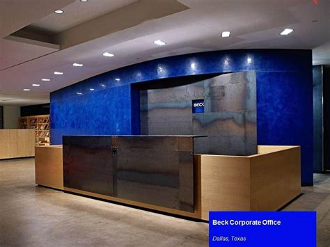 s office front desk beck s corporate office front beck office photo