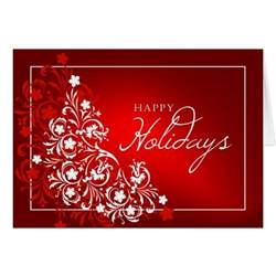 happy holidays greeting card zazzle