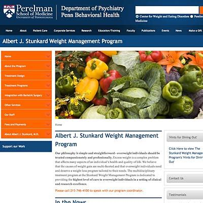 weight management in philadelphia ms the albert j stunkard weight management program at the