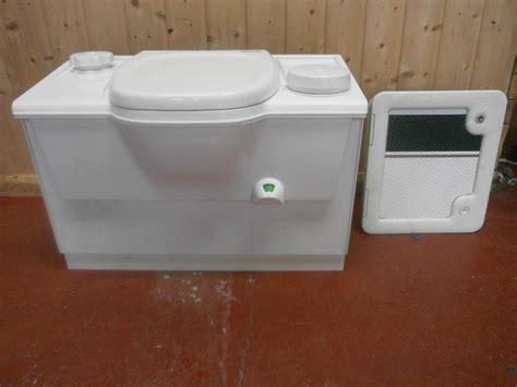 bench toilet caravan motorhome conversion white thetford bench cassette