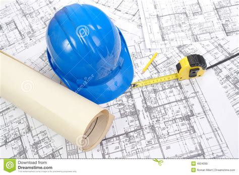 building plans royalty free stock images image 4924099